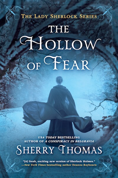 The cover of The Hollow of Fear will make chills skitter up your spine.
